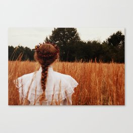 Field Coup Canvas Print