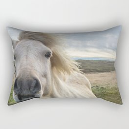 Icelandic Horse. Rectangular Pillow