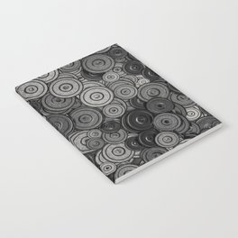 Heavy iron / 3D render of hundreds of heavy weight plates Notebook