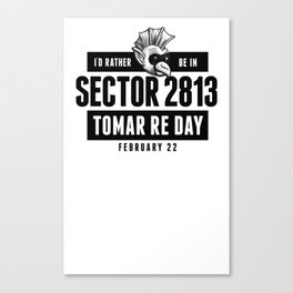 Sector 2813 Tomar Re Day Canvas Print