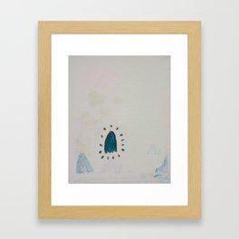Advice from a Ghost Framed Art Print