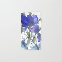 Bluest Blue Bloom Hand & Bath Towel