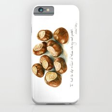 Chestnuts - into my coat pocket Slim Case iPhone 6s