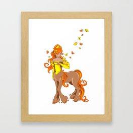 Female Centaur Framed Art Print