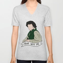 Grantaire - Drink With Me Unisex V-Neck