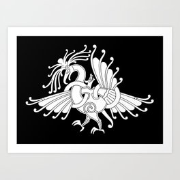 Ringerike Style Ornament III Art Print