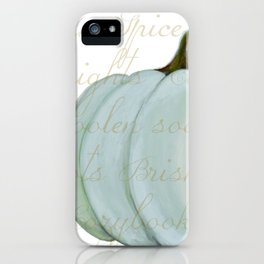 Cozy Fall things  iPhone Case