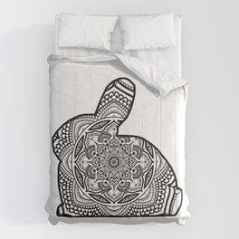 Bunny Mandala #1 Comforters
