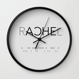 Rachel Duncan Binary Wall Clock