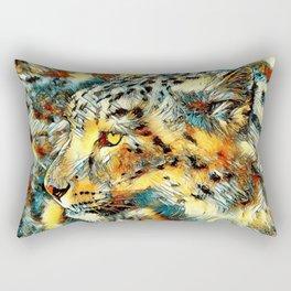 AnimalArt_Leopard_20170606_by_JAMColorsSpecial Rectangular Pillow