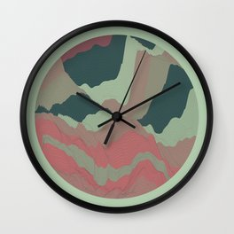 TOPOGRAPHY 008 Wall Clock
