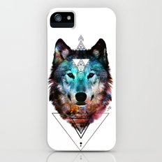 Sacred Wolf Slim Case iPhone (5, 5s)