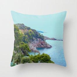 Rocky Coast #decor #society6 #buyart Throw Pillow