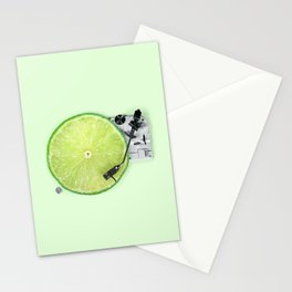 LIME DJ Stationery Cards