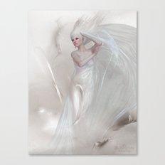 Lady elegant Canvas Print
