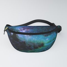 Fantasy Garden Path Midnight Fanny Pack