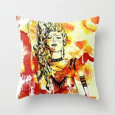 Tribal Beauty 2 Throw Pillow