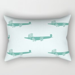 Croc Rectangular Pillow
