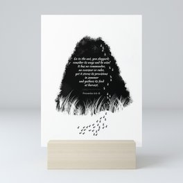 Go to the ant Mini Art Print
