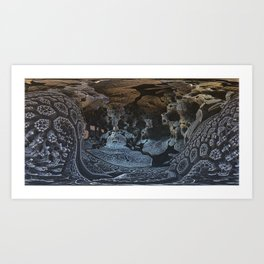 Late Places and Spaces Art Print