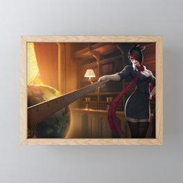Headmistress Fiora League of Legends Framed Mini Art Print