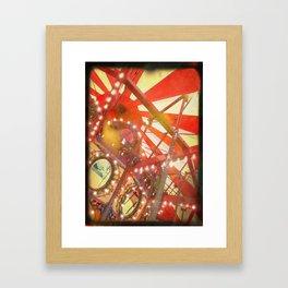 Spinning and Dreaming Framed Art Print