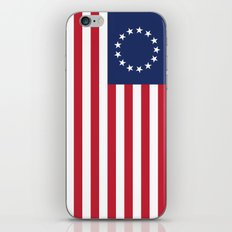 Betsy Ross USA flag - High Quality Image  iPhone & iPod Skin
