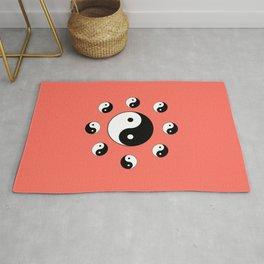 Yin and Yang 19- Tao,Zen,Taoism,Dao,Harmony,religion,buddhism,buddhist,taijitu,taiji,taoist,china Rug