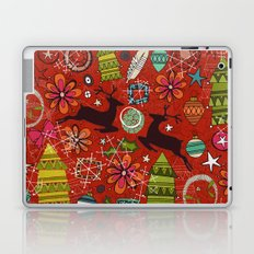 joyous jumble rust Laptop & iPad Skin