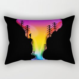Exploring Worlds Rectangular Pillow