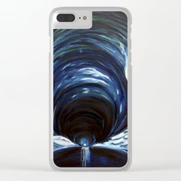 Cave of Brahma Clear iPhone Case