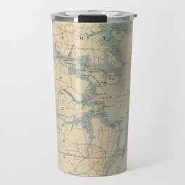 Vintage Map of Ocean City Maryland (1900) Travel Mug