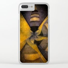 escape the hive Clear iPhone Case