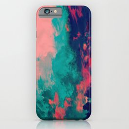 Painted Clouds IV iPhone Case