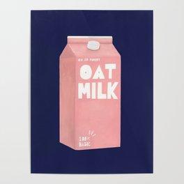 Oat Milk Pop Art Poster