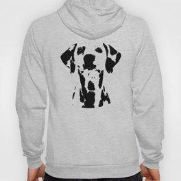 Dalmatian dog watercolour Hoody