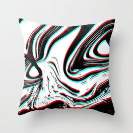 Mad Man Throw Pillow