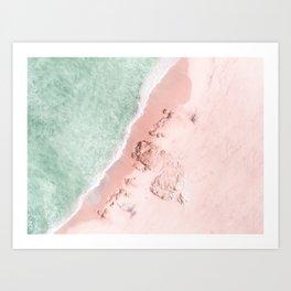 Chiffon Mist Art Print