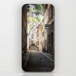 Urban Side Street. iPhone Skin