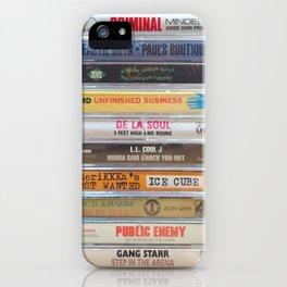 Hip Hip Cassettes iPhone Case