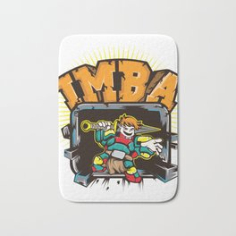 Imba - imbalanced. T-Shirt For Gamers And Those Who Knows What Imba Means Game Gamer Computer Sport Bath Mat
