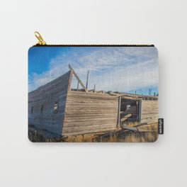 Roofless Barn, Backroads Farmstead, Valley County, MT Carry-All Pouch