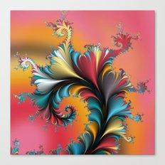 Fractal Reflections Canvas Print