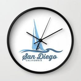 San Diego. Wall Clock