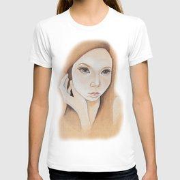 Self Portrait on Wood T-shirt