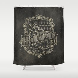 Hufflepuff House Shower Curtain
