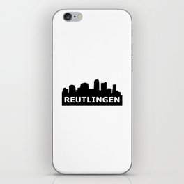 Reutlingen Skyline iPhone Skin