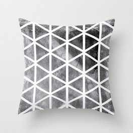 GEOMETRIC SERIES I Throw Pillow
