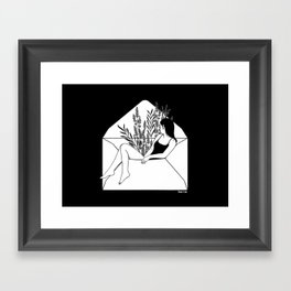 Dear Heartbreaker Framed Art Print