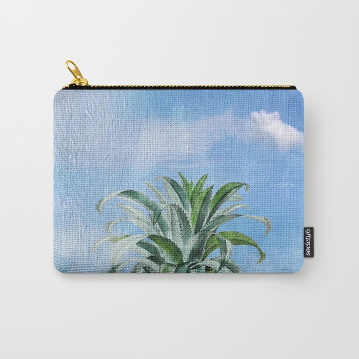Pineapple Heaven Carry-All Pouch